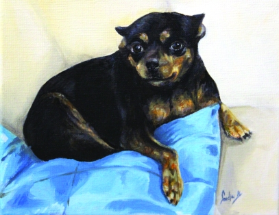 Chihuahua- Oil Paint
